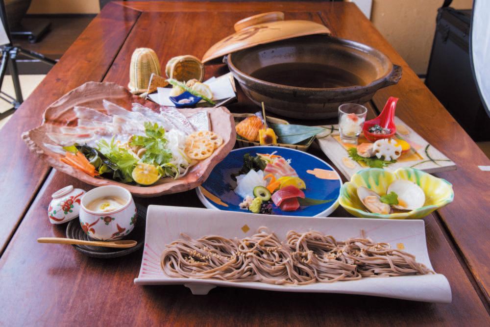 【砦名物!】蕎麦しゃぶコース 全7品